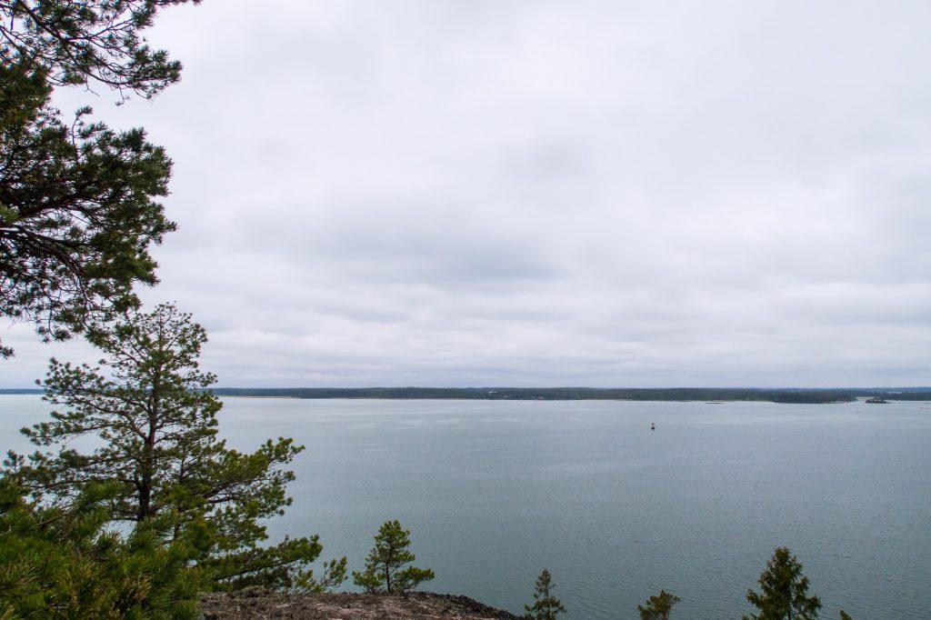 Utsikt över Bråviken