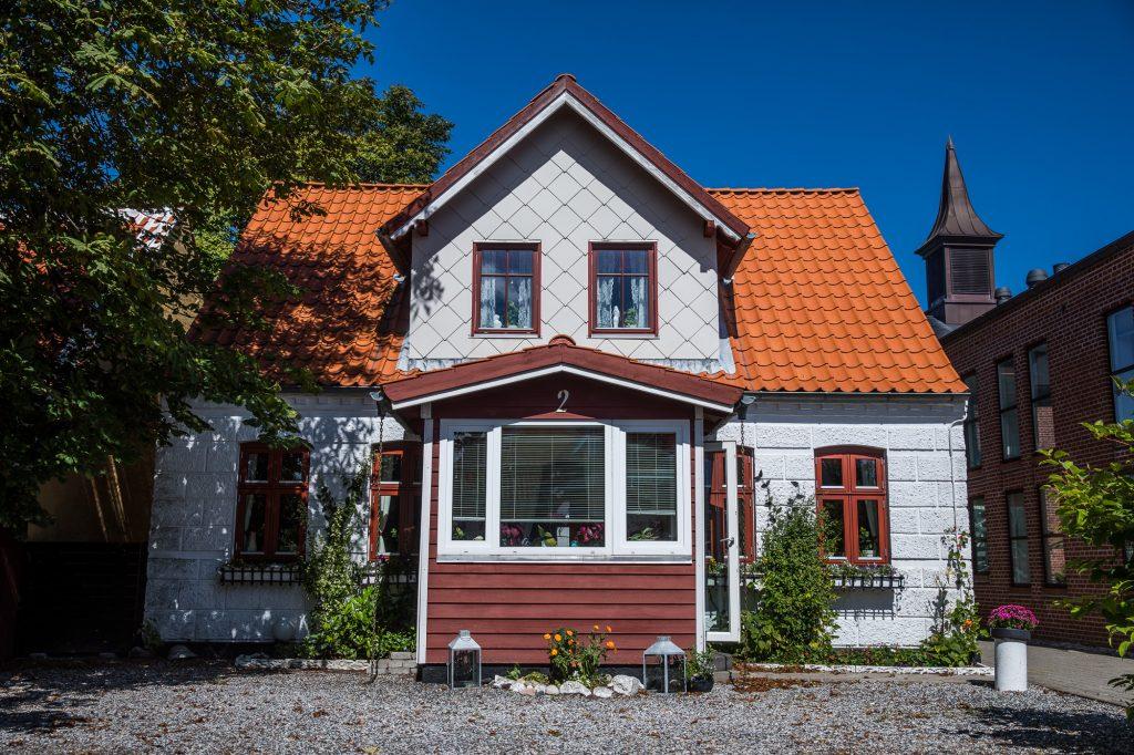 Hus i Skagen