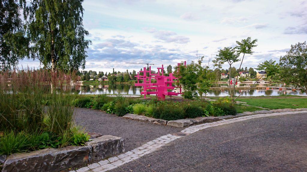 Rosa i park