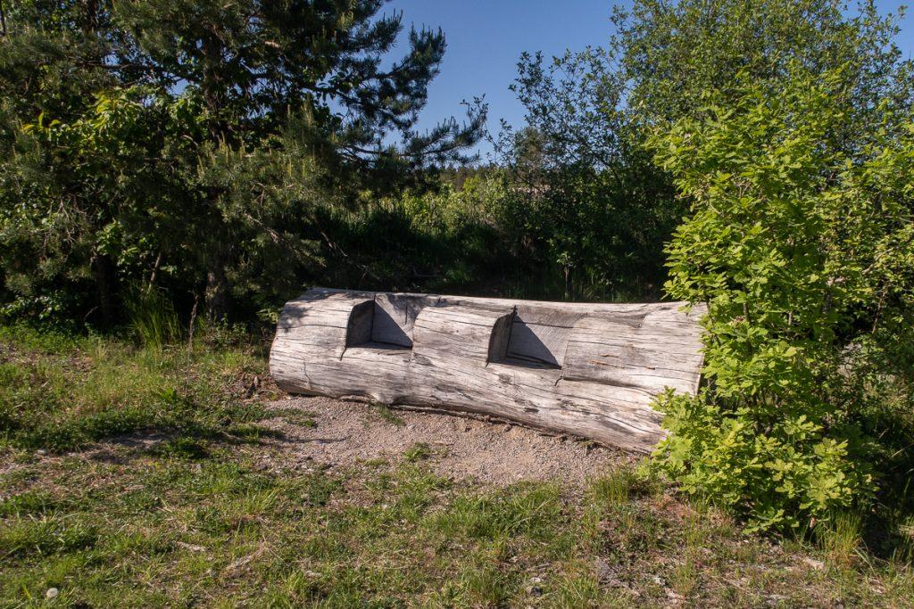 Byggd bänk