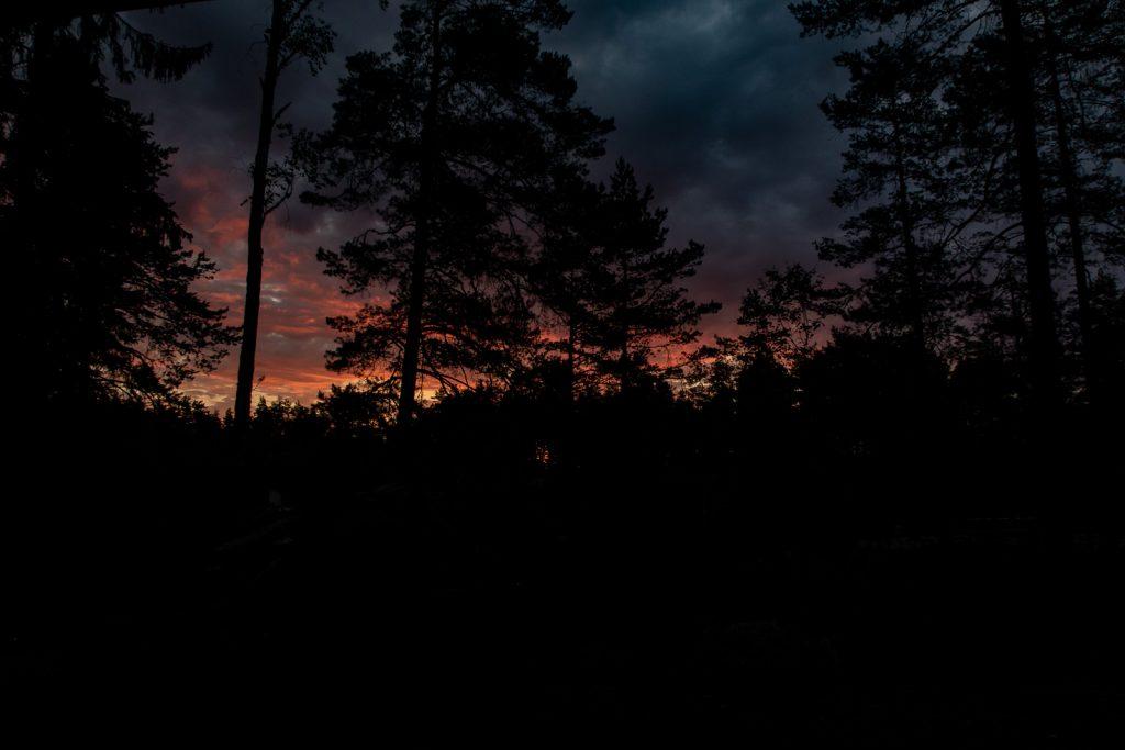 Night time, Sörmlandsleden 23