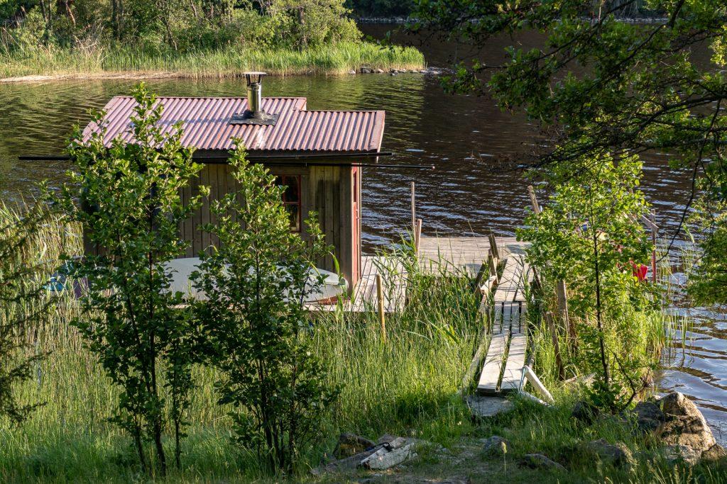 Homebuilt sauna, Sörmlandsleden 24