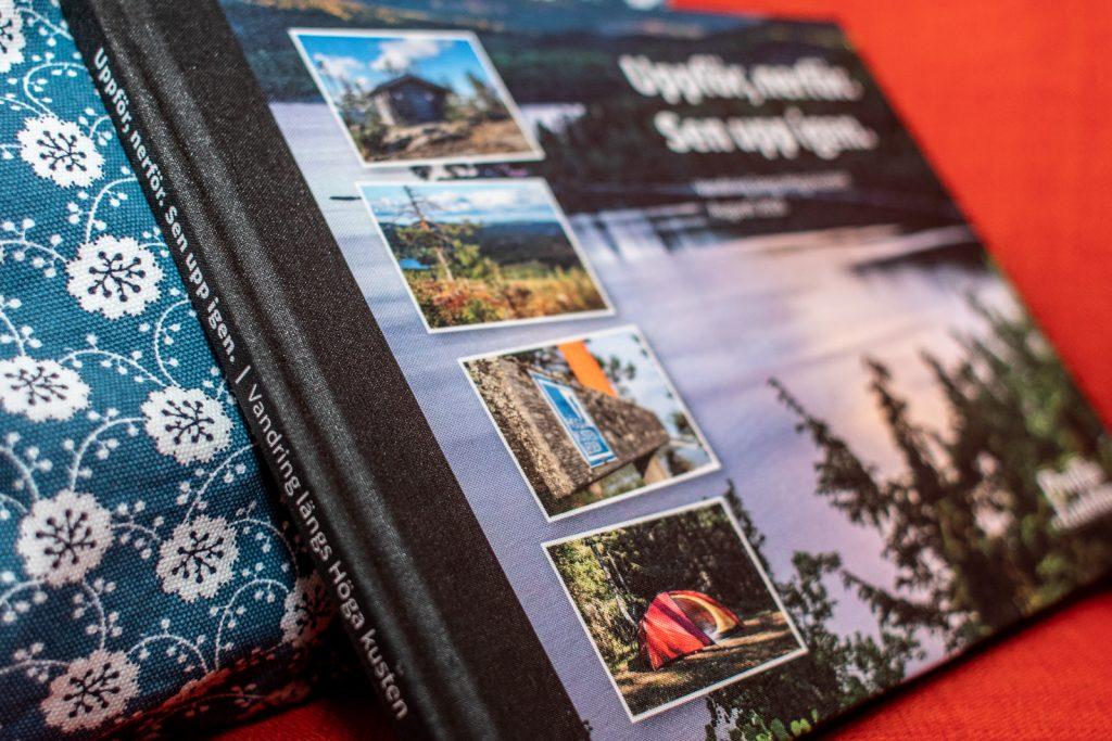 Platt fotobok om Höga kusten-vandring