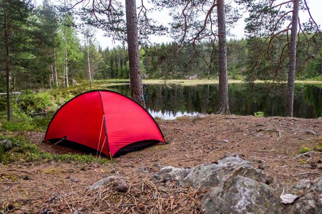 Lägerplats vid Garphyttedammen, Bergslagsleden