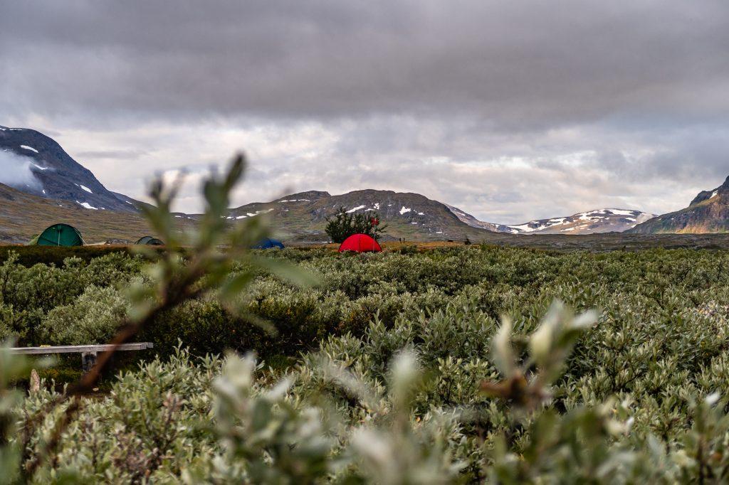 Mitt röda fina tält Hilleberg Niak