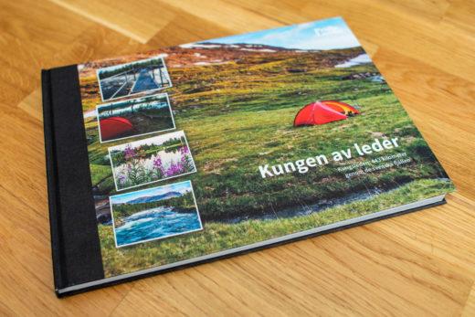 Fotobok om vandring av Kungsleden