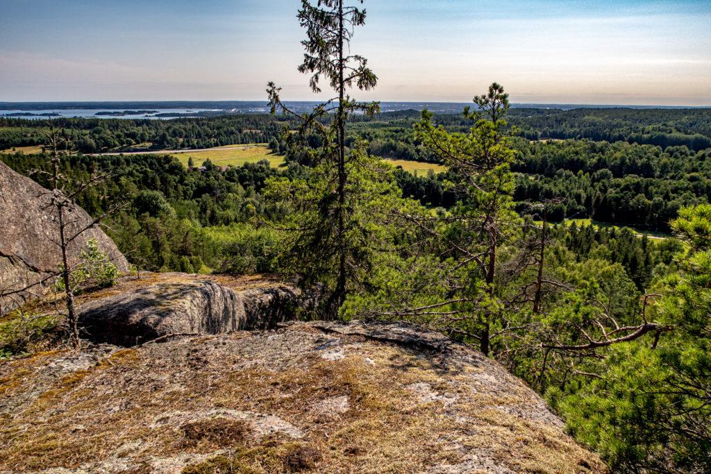 Utsikt över Bråviken från Korpklint