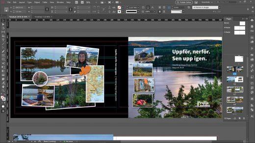 Guide: fotobok i InDesign