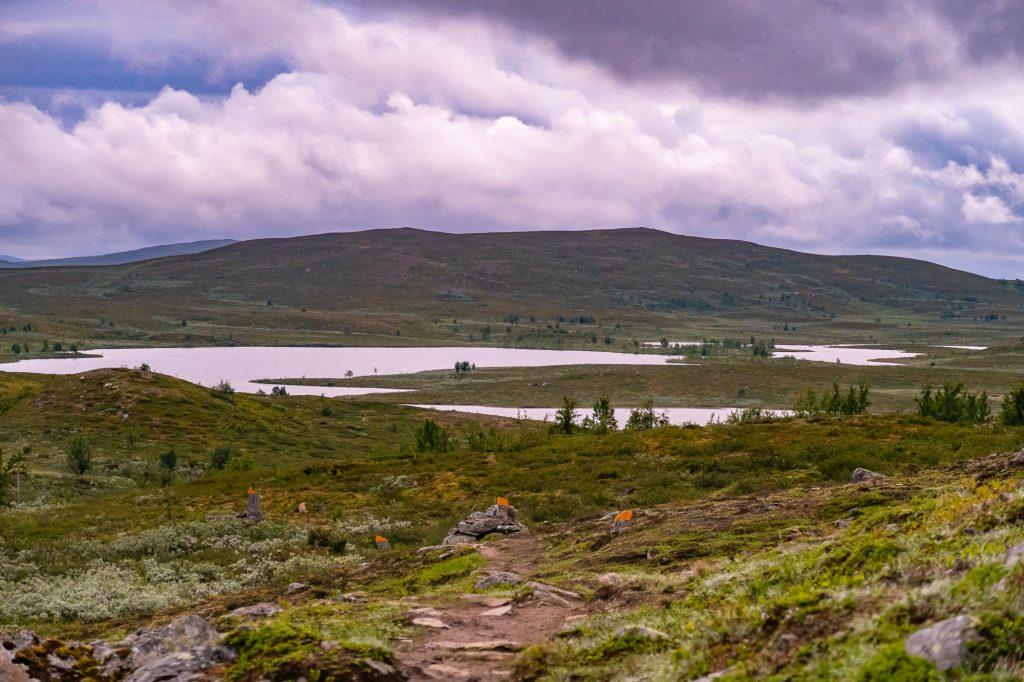 Kungsleden mellan Tärnasjön och Serve