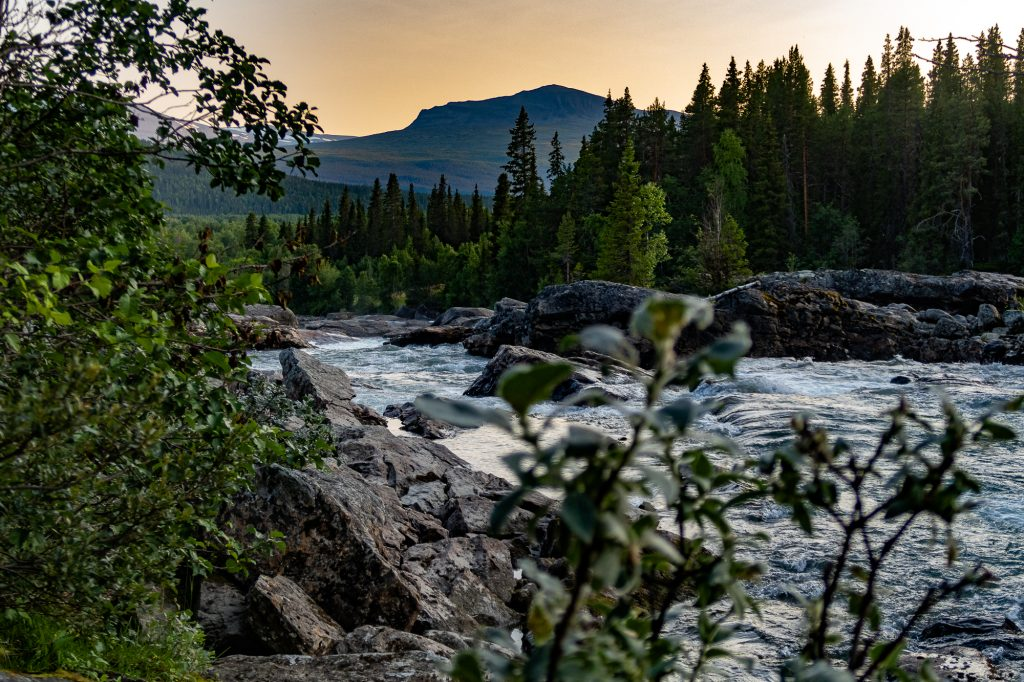 Jokken Gamájåhkå vid Kvikkjokk