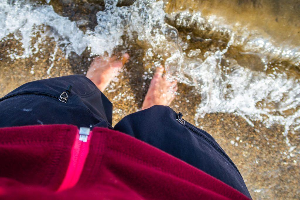 Svalkar fötterna