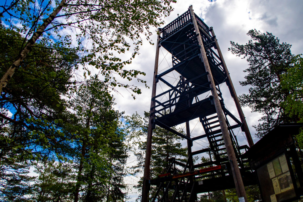 Utkikstornet på etapp 30, Sörmlandsleden