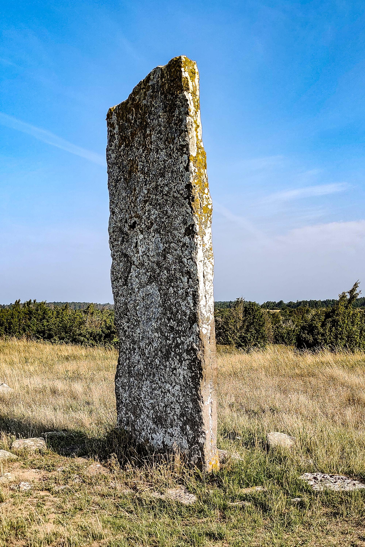 Tingstad flisa, en annan av stenarna.