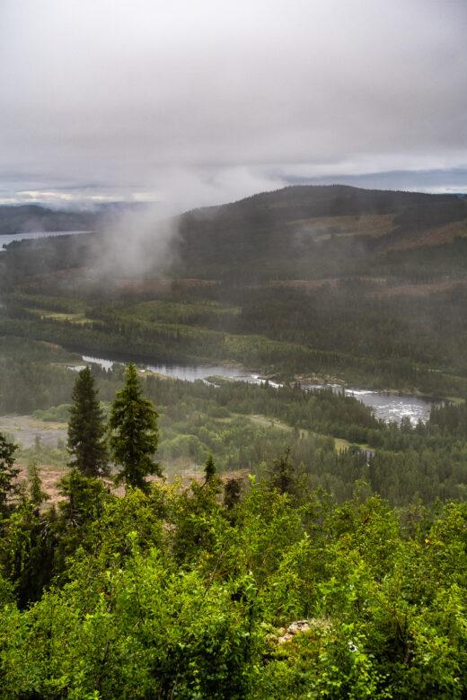 Utsikt från toppen av Stalonberget